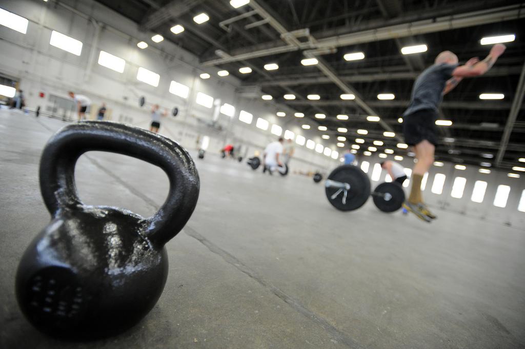 CrossFit Training Equipment